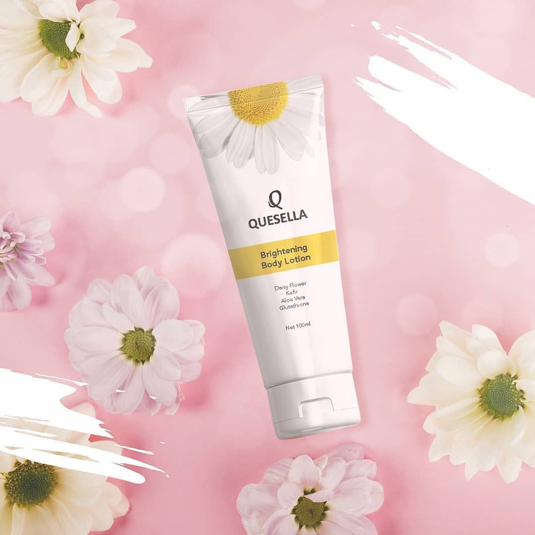 QUESELLA Brightening Body Lotion, 100ml - IDR 80.000 BPOM ...
