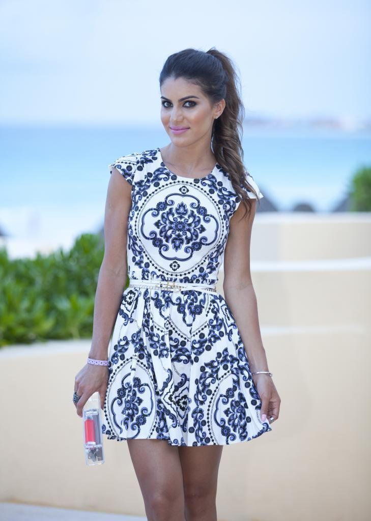 Vestido de azulejo portugues girl