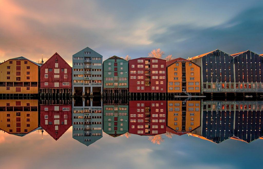 Trondheim [1116x717] in 2019 | Places | Norway, Trondheim ...