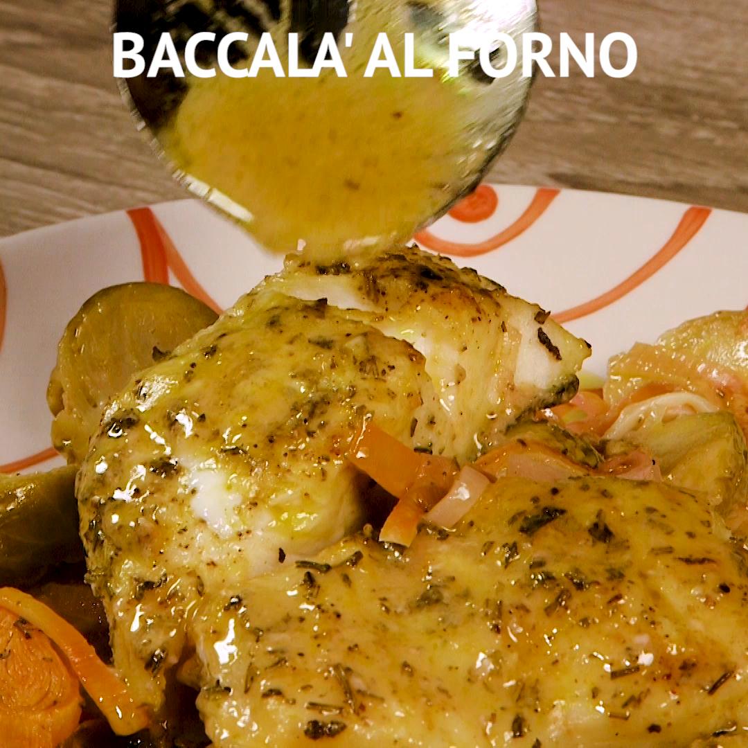 Baccalà Al Forno Ricetta Nel 2019 Ricette Di Pesce Ricette
