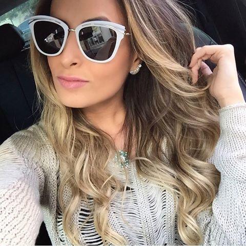 @femarquesblog em uma linda #selfie com o novo #sodior ✨ #dior #bomdia #inverno #inspiração #blogger #otica #wanny #oticaswanny #smile #fashion #fashionista