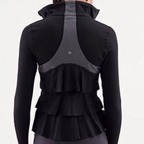 32d2e190e4 Lululemon Yogi Dance Ruffle Jacket 6 ***LAST CHANCE*** I'm going to give  this to my daughter if no one buys it!! ........... ADORABLE & RARE  Lululemon Yogi ...