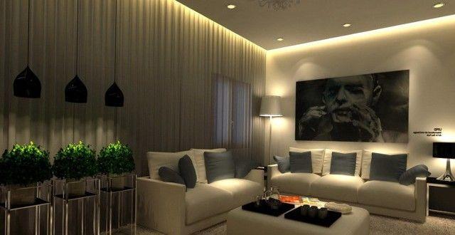 Resultado de imagen de salones iluminacion salon iluminaci n decoracion departamentos y - Iluminacion salon comedor ...