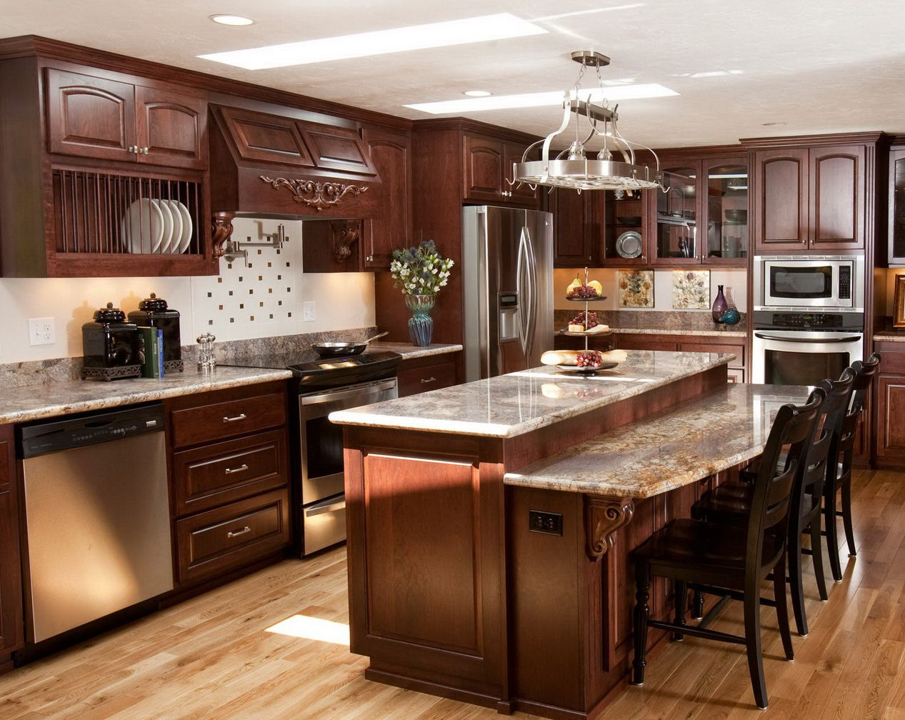 Beautiful kitchens home interior beautiful italian cabinet styles