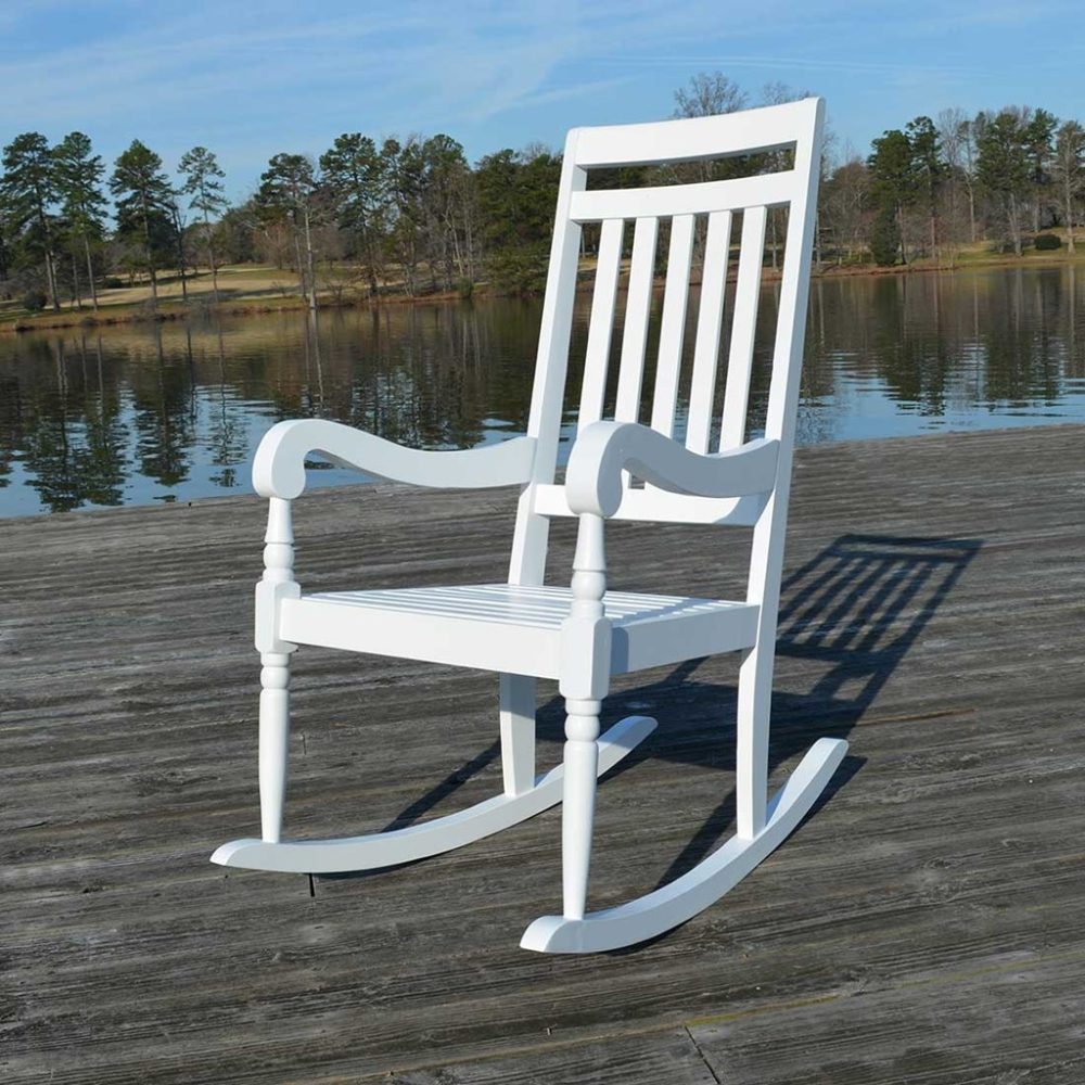 Rutledge WeatherResistant Rocking Chair in 2020 Rocking