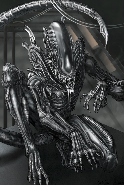 Image result for xenomorph art