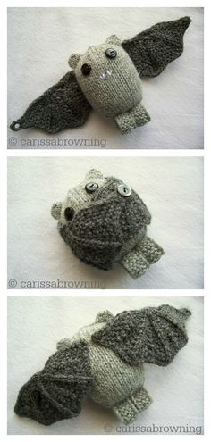 Photo of Amigurumi Bat Free Knitting Pattern and Paid