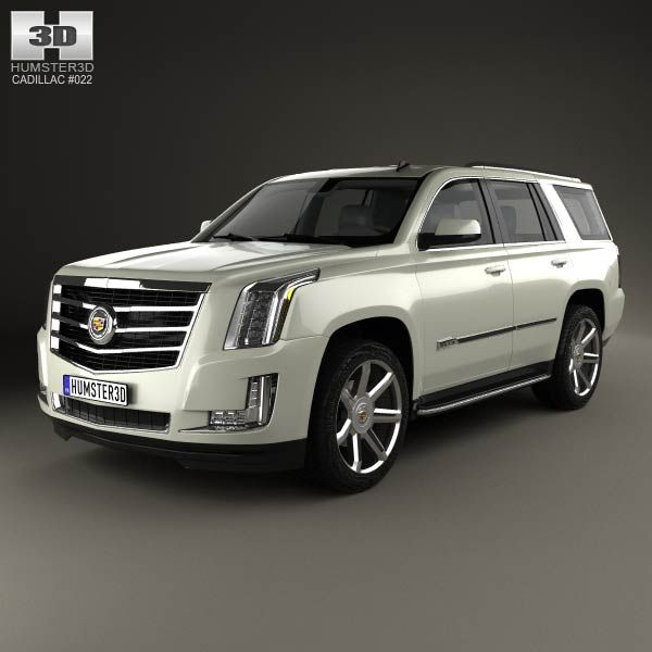 Cadillac Escalade Platinum Price: Cadillac Escalade 2015 3d Model From Humster3d.com. Price