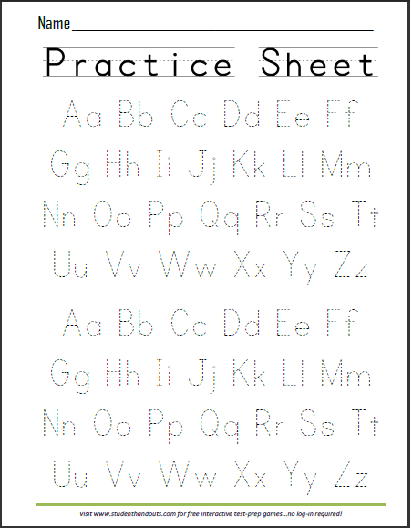 Weekly alphabet tracing practice kids pre printing skills weekly alphabet tracing practice altavistaventures Image collections