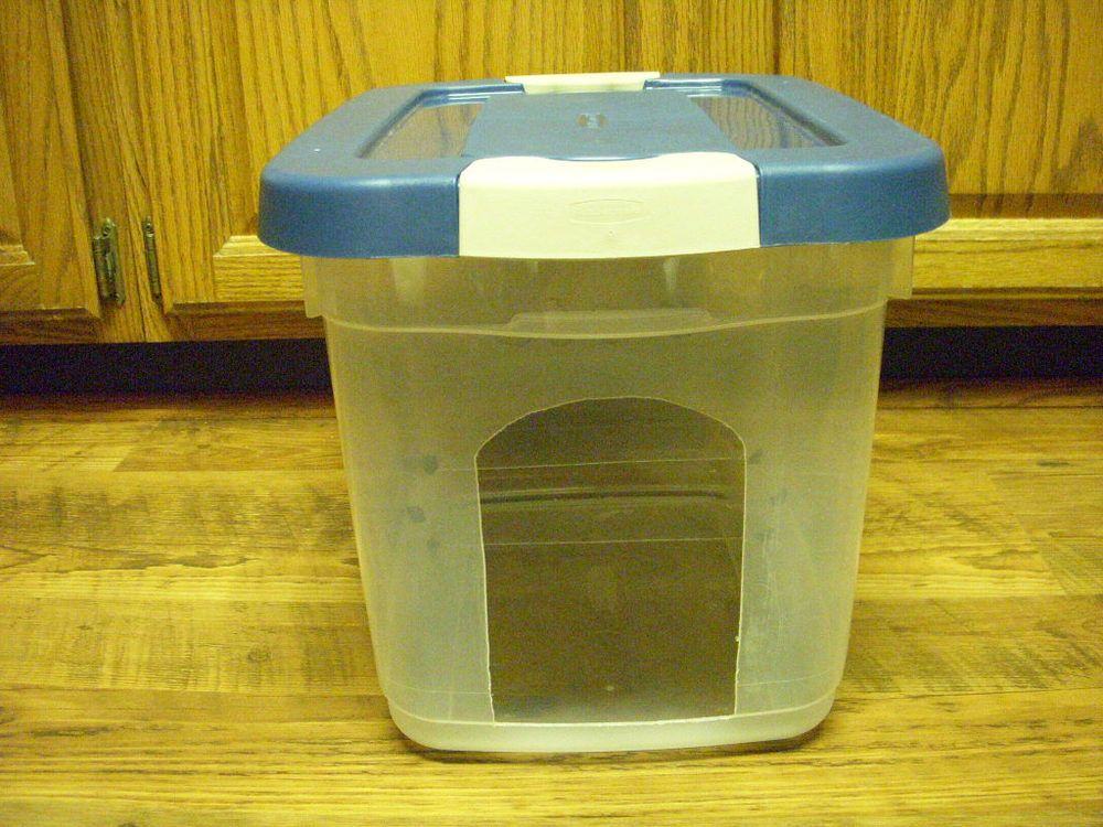 Homemade Dog Proof Cat Feeder I With My Hubby S Hands And