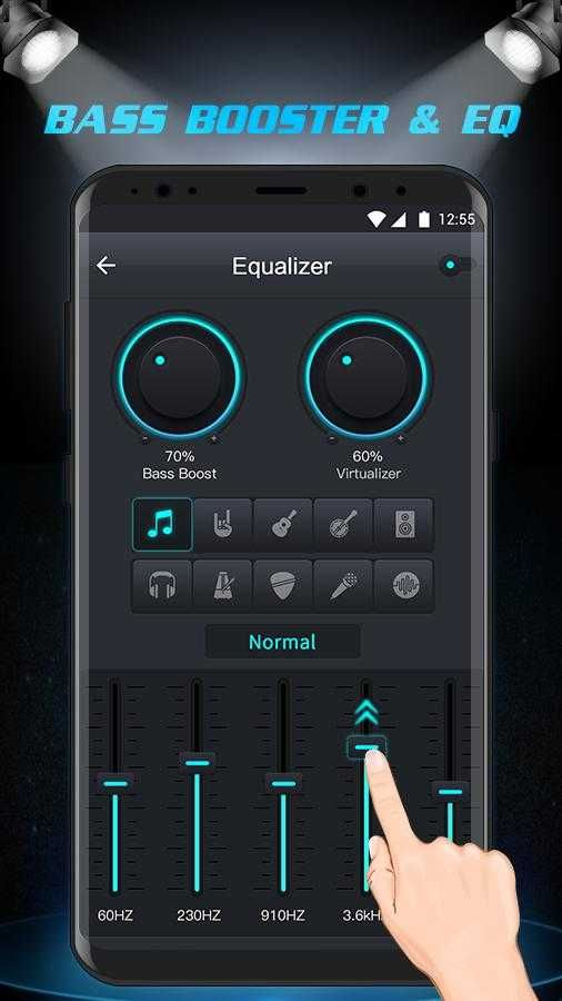 Download Free Music Player Equalizer & Bass Booster APK