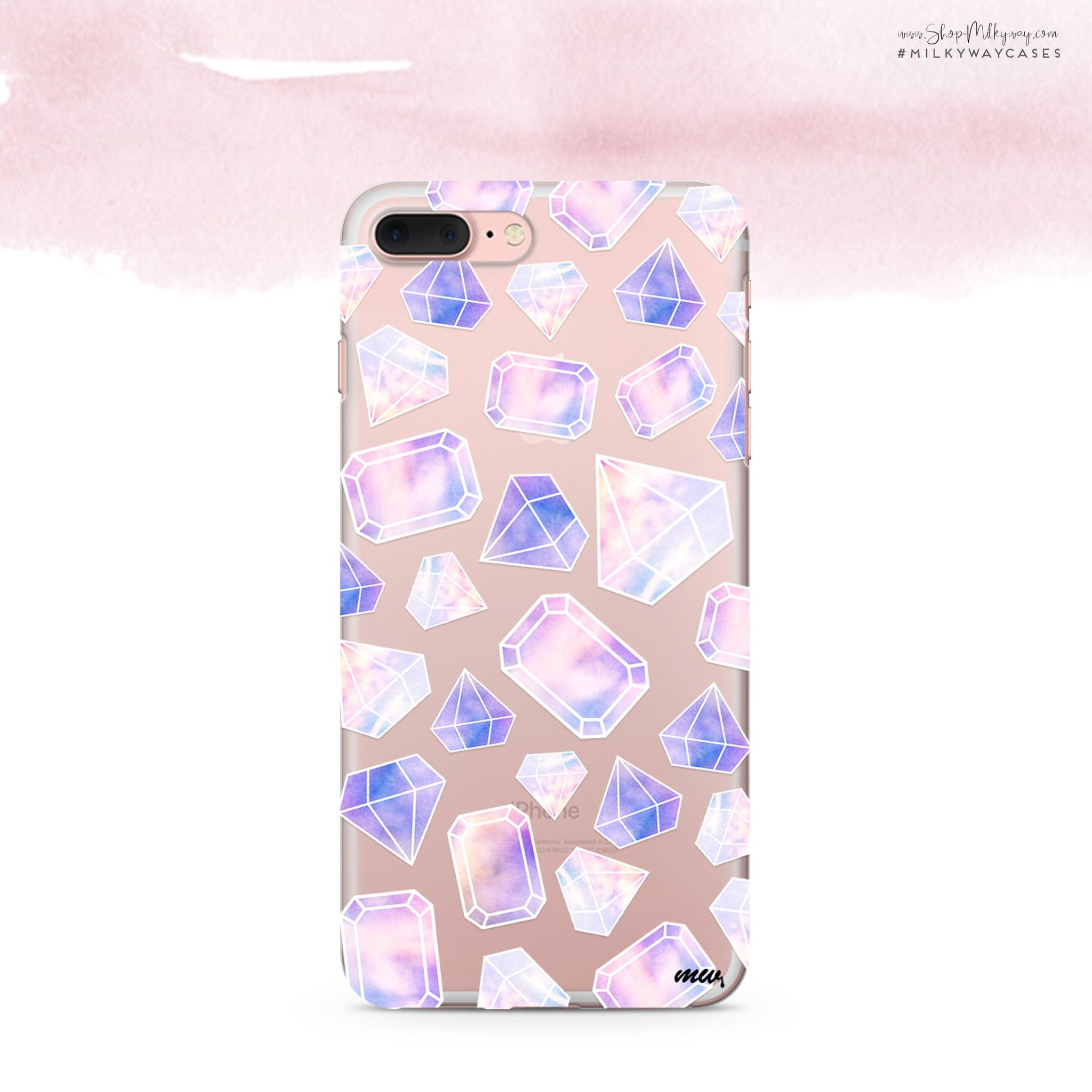 milkywaycases diamond clear okitssteph diamonds sky x pin case cover
