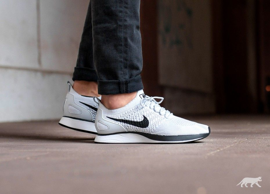 Nike Nike Air Zoom Mariah Flyknit Racer Pure Platinum White Zapatillas Deportivas Zapatos Zapatillas