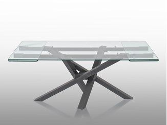 Extending Rectangular Crystal Table Shangai Extending Table