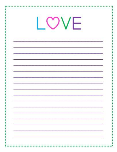 Free Printable Valentine\u0027s Day To Do Lists \u2013 Heart Pattern  LOVE