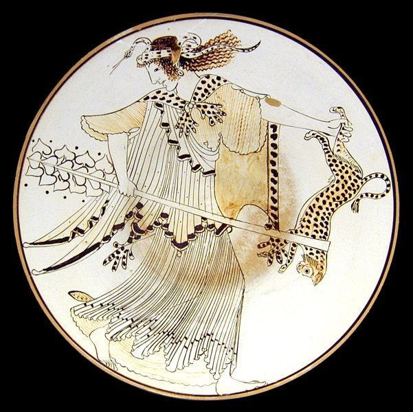In Greek Mythology Maenads Greek Mainades Mainades Were The Female Followers Of Dionysus The Most Significant M Les Mythes Art Grecque Antique Art Grec