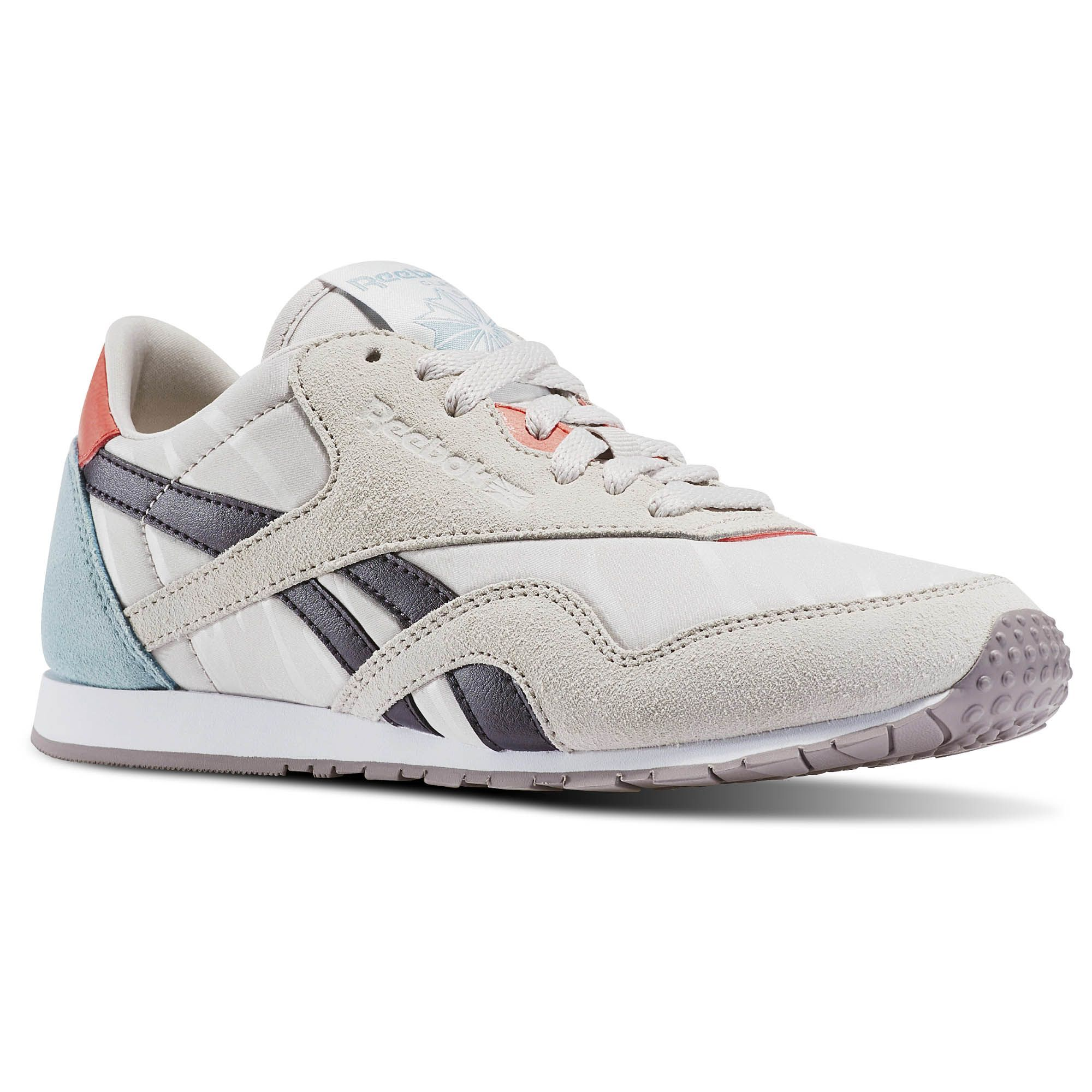 Reebok Walking / Classic Leather Nylon Slim Candy Girl Women