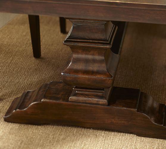Banks Extending Rectangular Dining Table Medium 76 X 40 Alfresco Brown