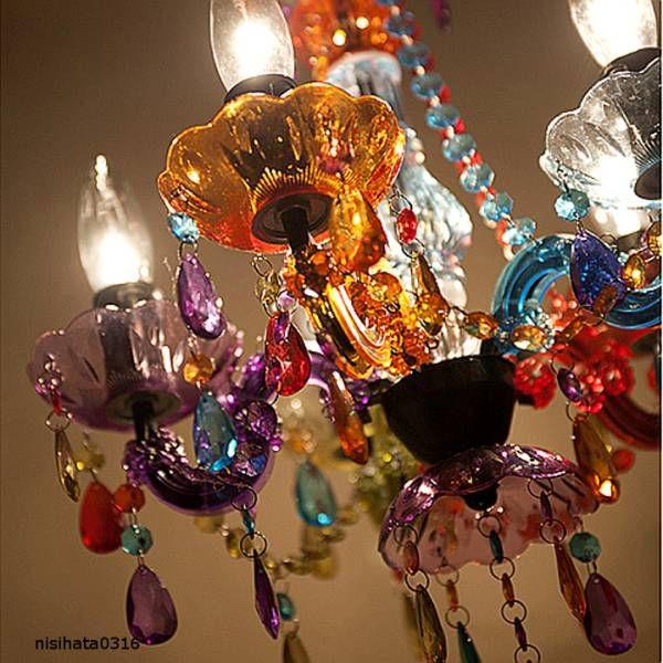 新品 豪華 8灯用シャンデリア 綺麗なカラフル ヤフオク シャンデリア アンティーク シャンデリア 綺麗
