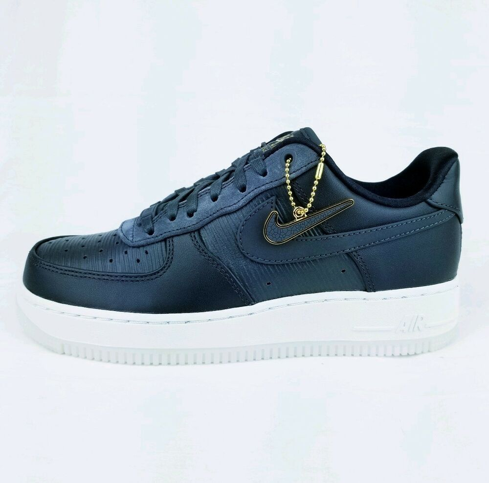 New WMNS Nike AIR FORCE 1 07 LX ANTHRACITE ANTHRACITE BLACK