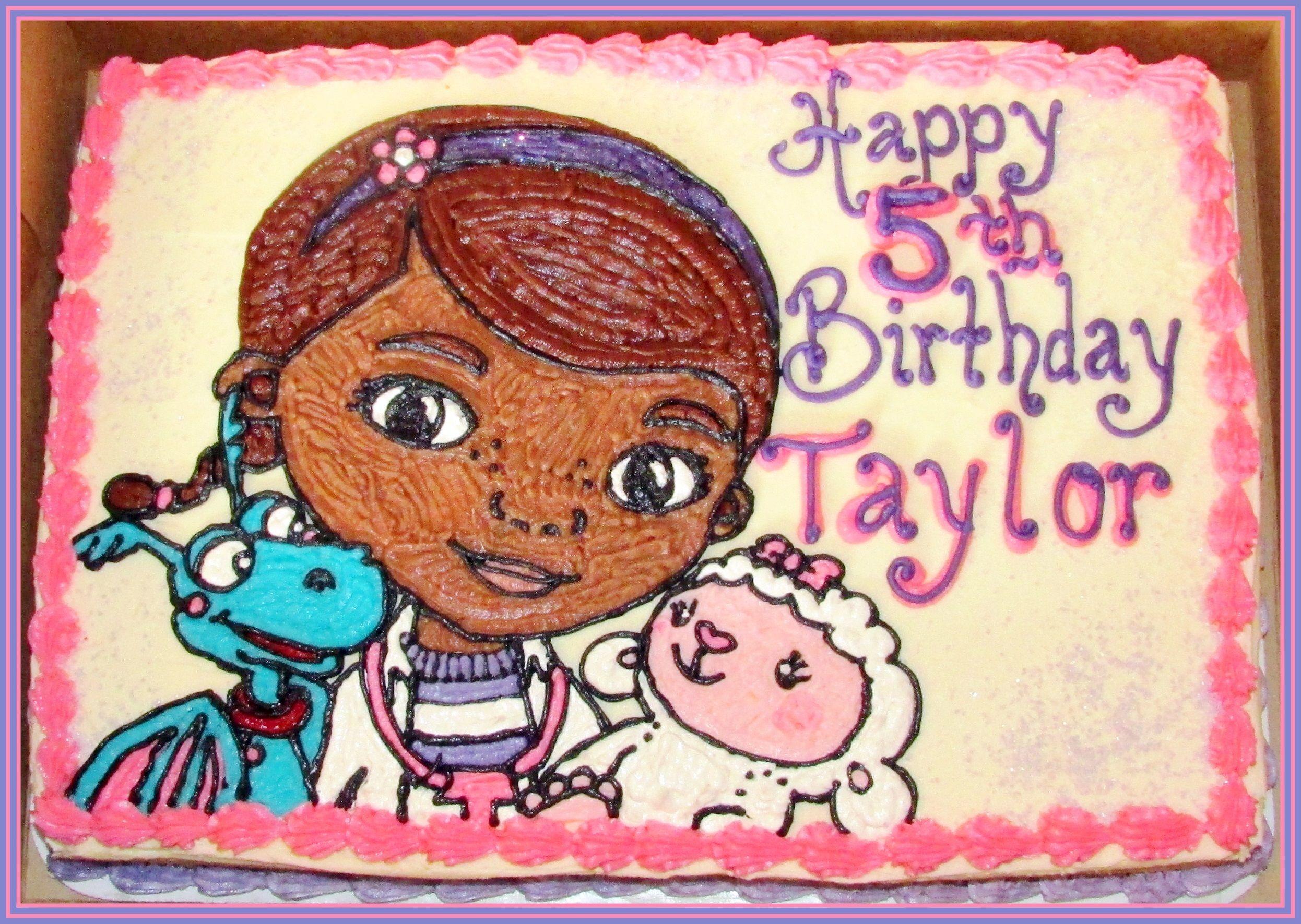 Doc Mcstuffins Cake Doc Mcstuffins Birthday Cake Doc Mcstuffins