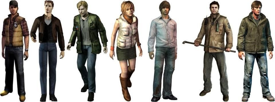silent hill video game characters