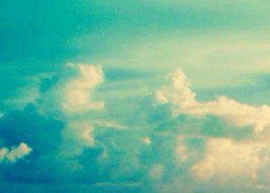 Aquamarine Clouds