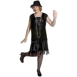 womans plus size gatsby girl costume