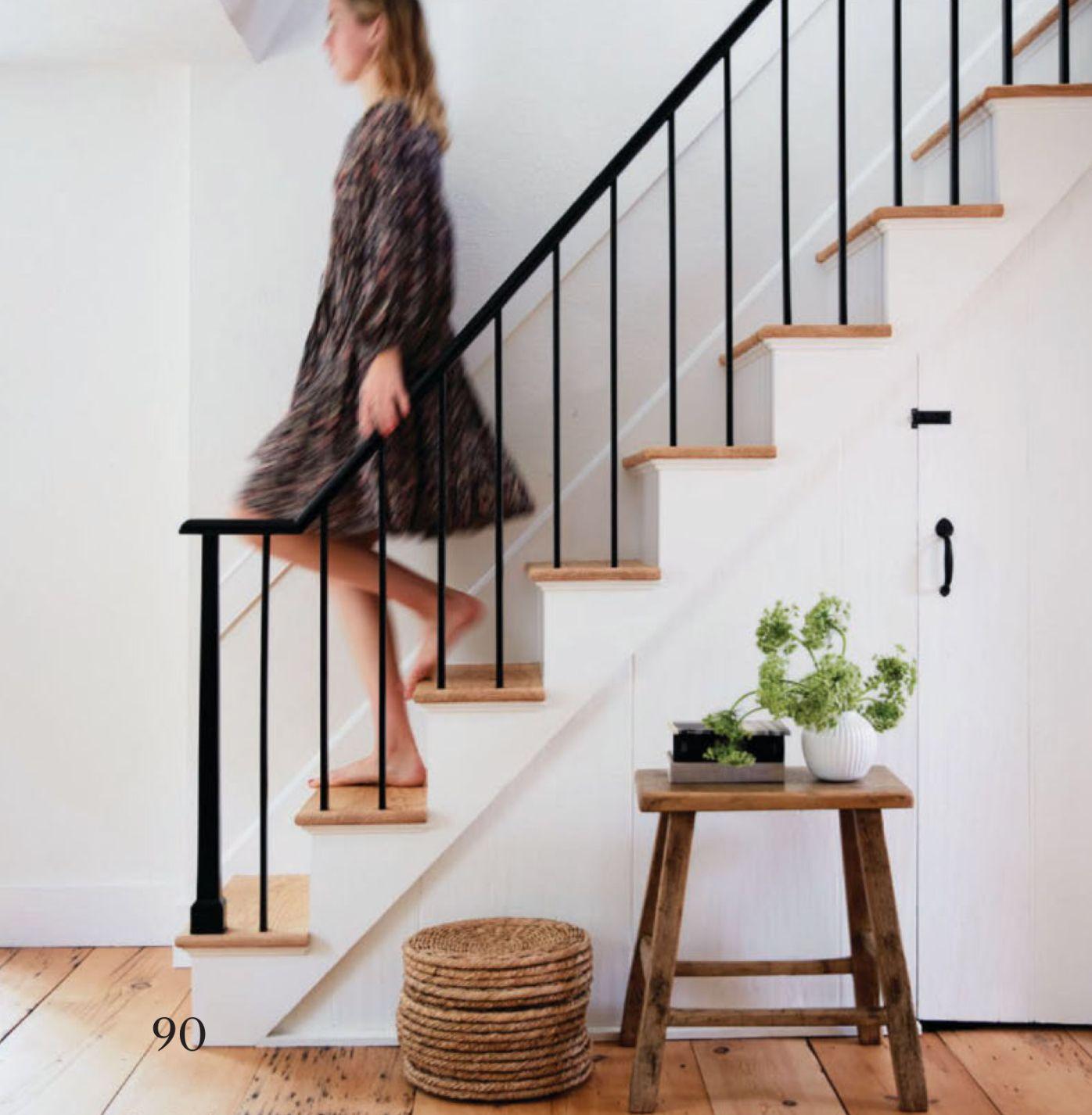 80 Modern Farmhouse Staircase Decor Ideas 64: Farmhouse Renovation Upstate