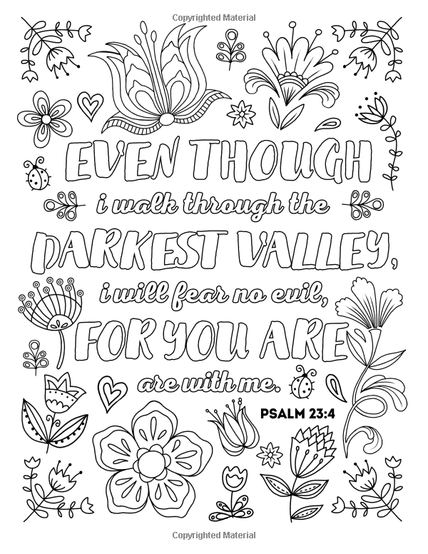 Amazon Com Color Your Psalms An Inspiring Christian Coloring Book For Relaxation Ins Bible Verse Coloring Inspirational Quotes Coloring Quote Coloring Pages