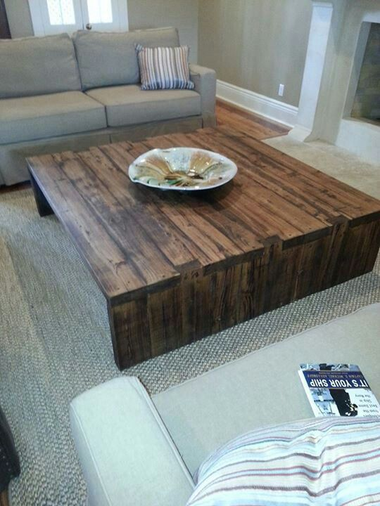 Eric and Norma's Place At Clayton House Marketplace in covington LA Made this table out old reclaimed cypress wood Order yours 60x60x20 795.00