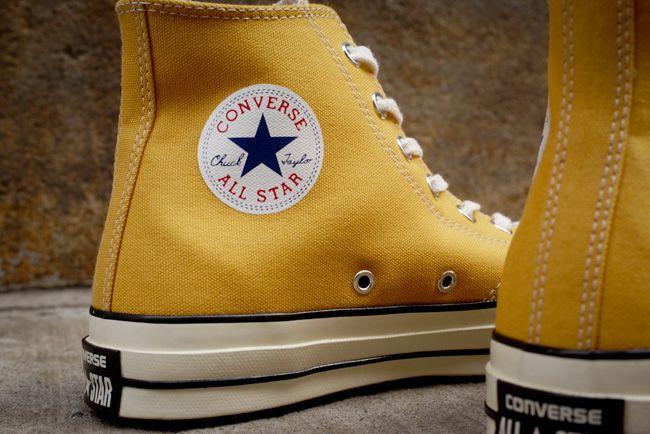 Chuck taylors, Converse, Yellow converse