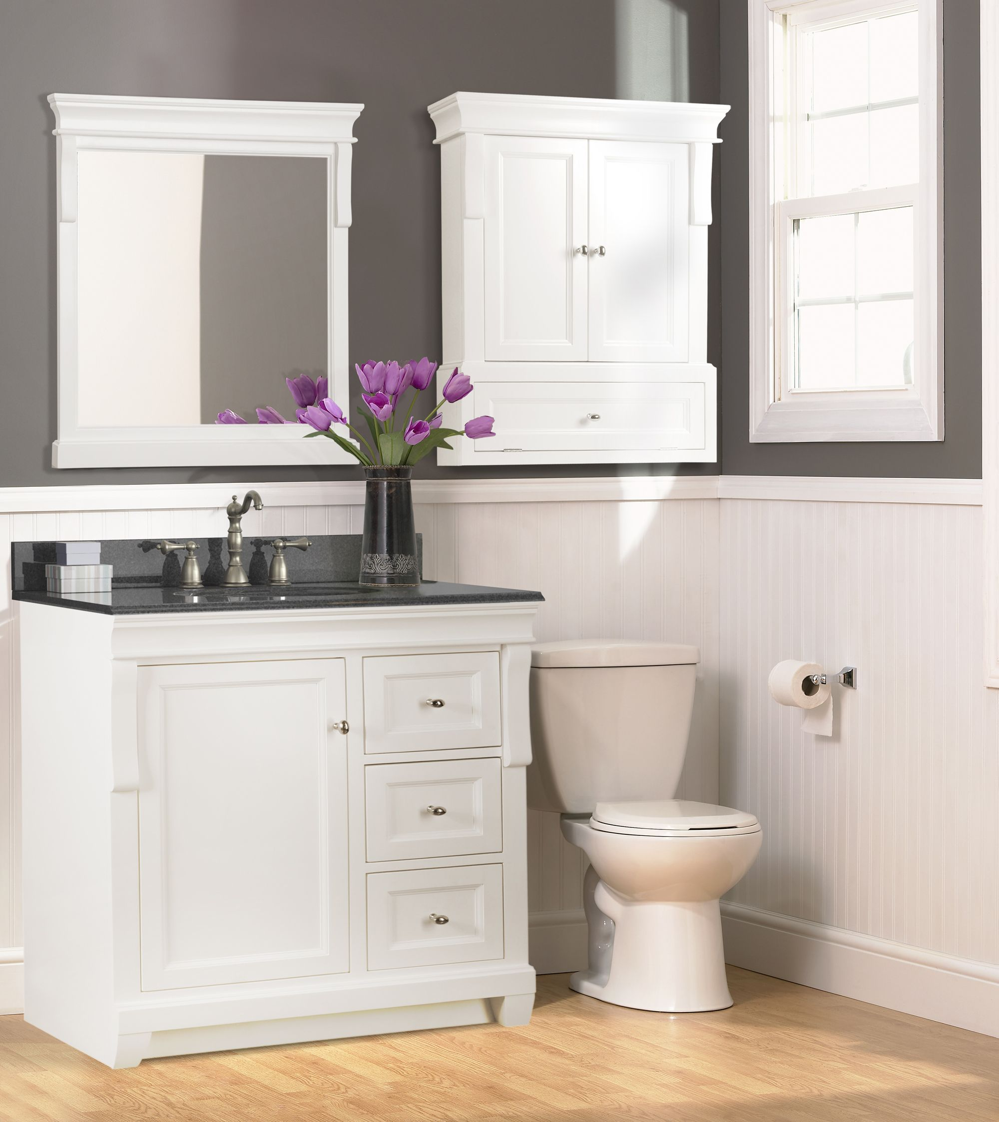 The Naples Vanity From Foremost International In A Brilliant