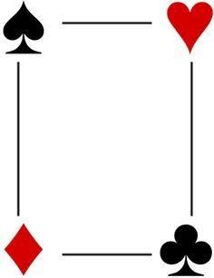 Image Result For Deck Of Cards Photo Booth Picture Frame Template Vegas Theme Party Casino Birthday Party Casino Party Decorations