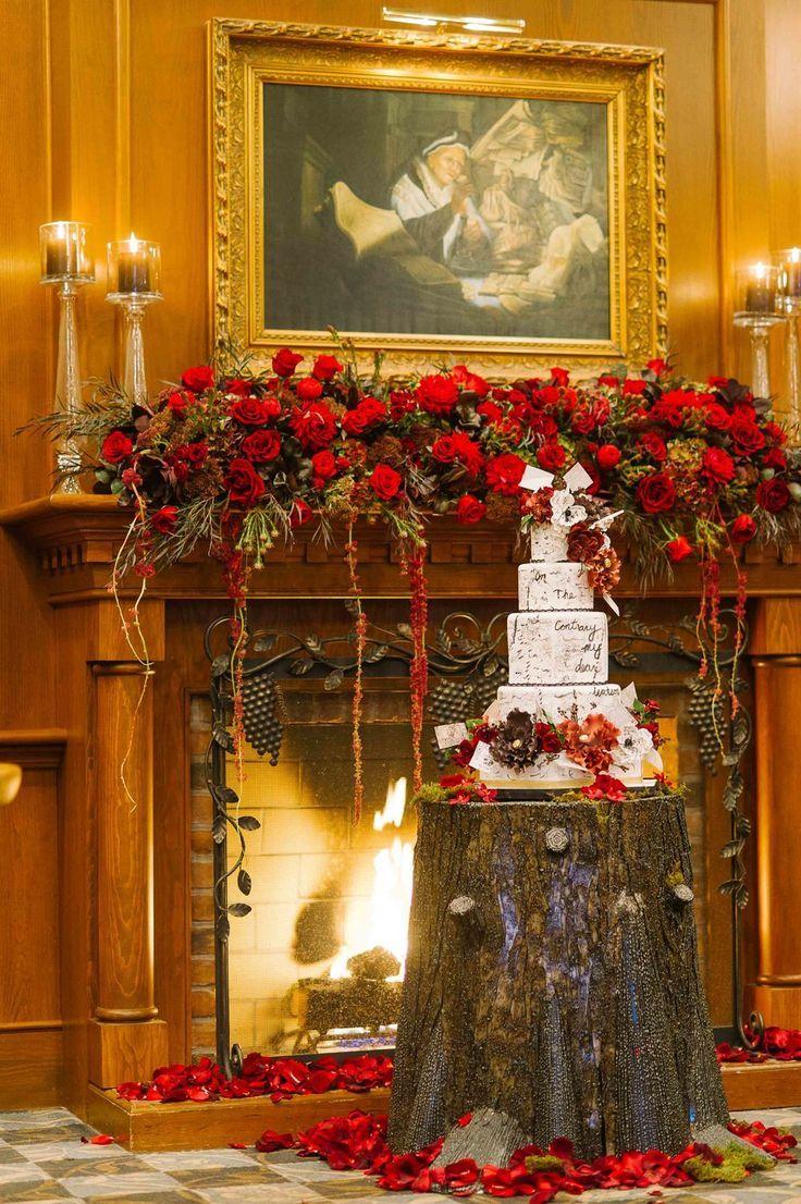 Sherlock Holmes Themed Wedding Olde Library At Pillar And Post