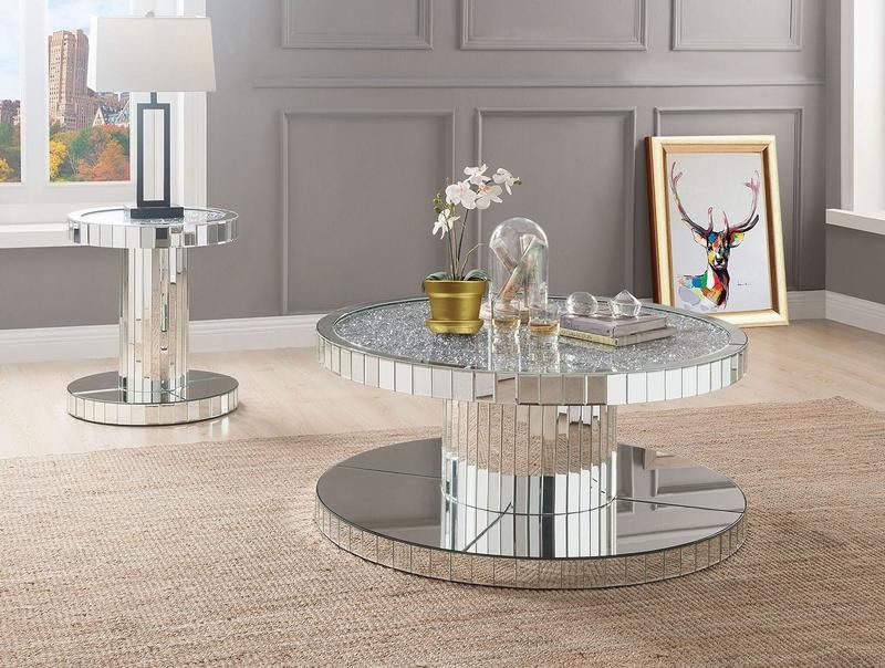 Sensational Acme 80300 Mirrored Coffee Table In 2019 Coffee Table Machost Co Dining Chair Design Ideas Machostcouk