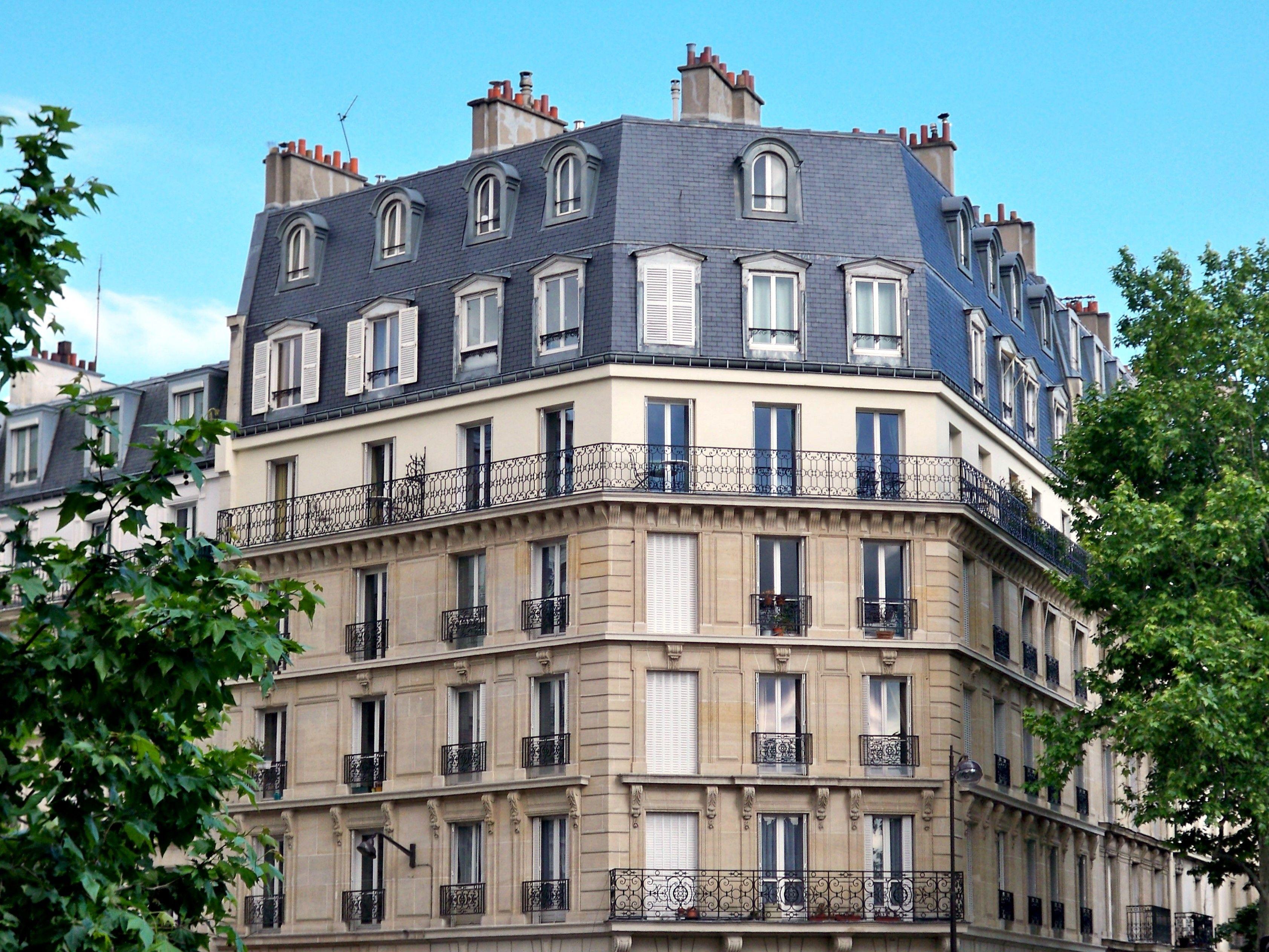Paris Apartment Building Architecture Google Search