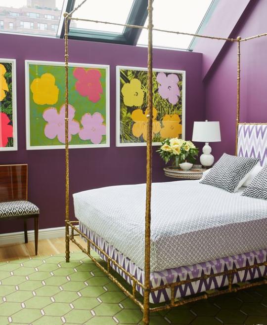 Modern Interior Colors Purple Color Bedroom Masculine: Color: Lavendar, Mauve, Purple Rooms I