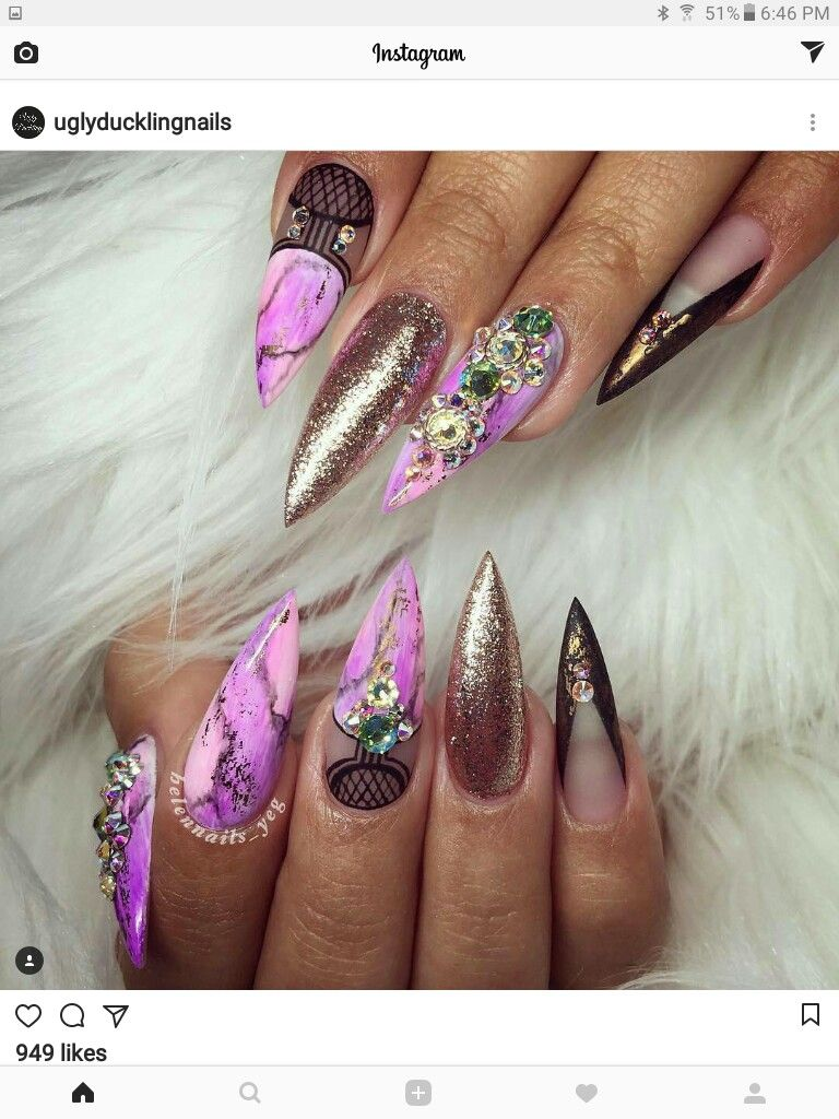 Pin by Clairessa Hamilton on Nails!! | Pinterest | Edge nails ...