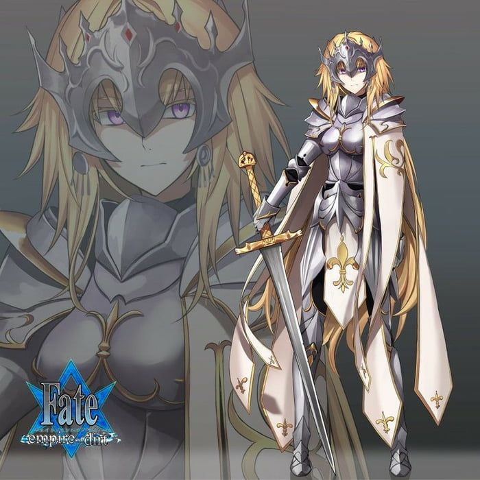 Jeanne with armor. Ok