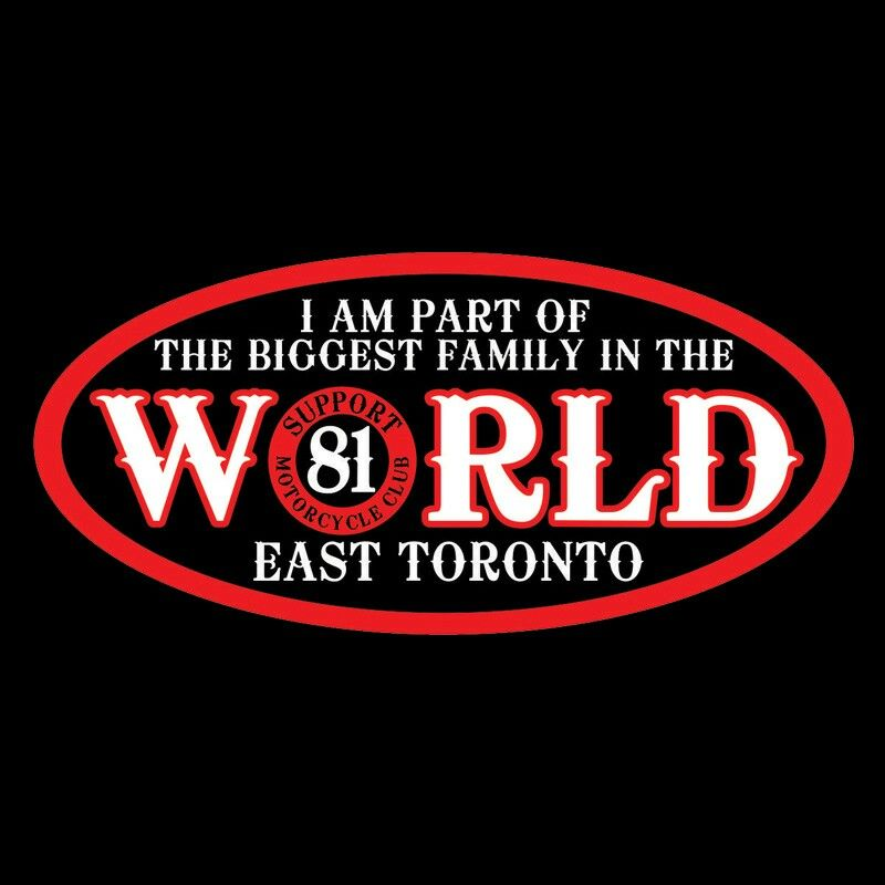 Support 81 East Toronto   class of 81   Hells angels, Motorcycle art