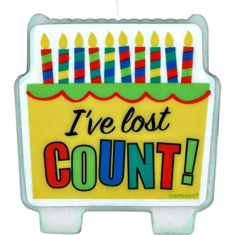 Lost Count Birthday Candle