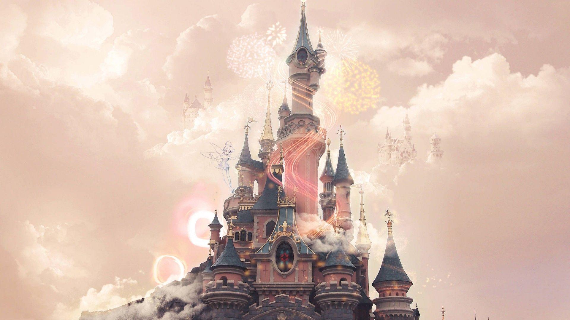 Castillo De La Cenicienta Papel Tapiz Disney Fondos De Pantalla Escritorio Fondos Tumblr