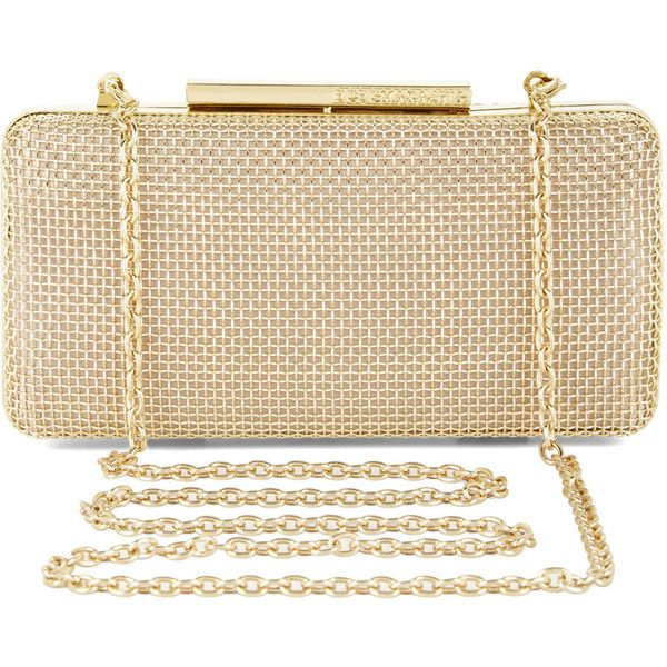 Bcbgmaxazria Stacey Metal Cage Hard Clutch Found On
