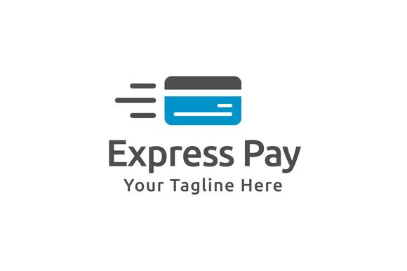 Express Pay Logo Template by Logo20 on @creativework247 - pay template