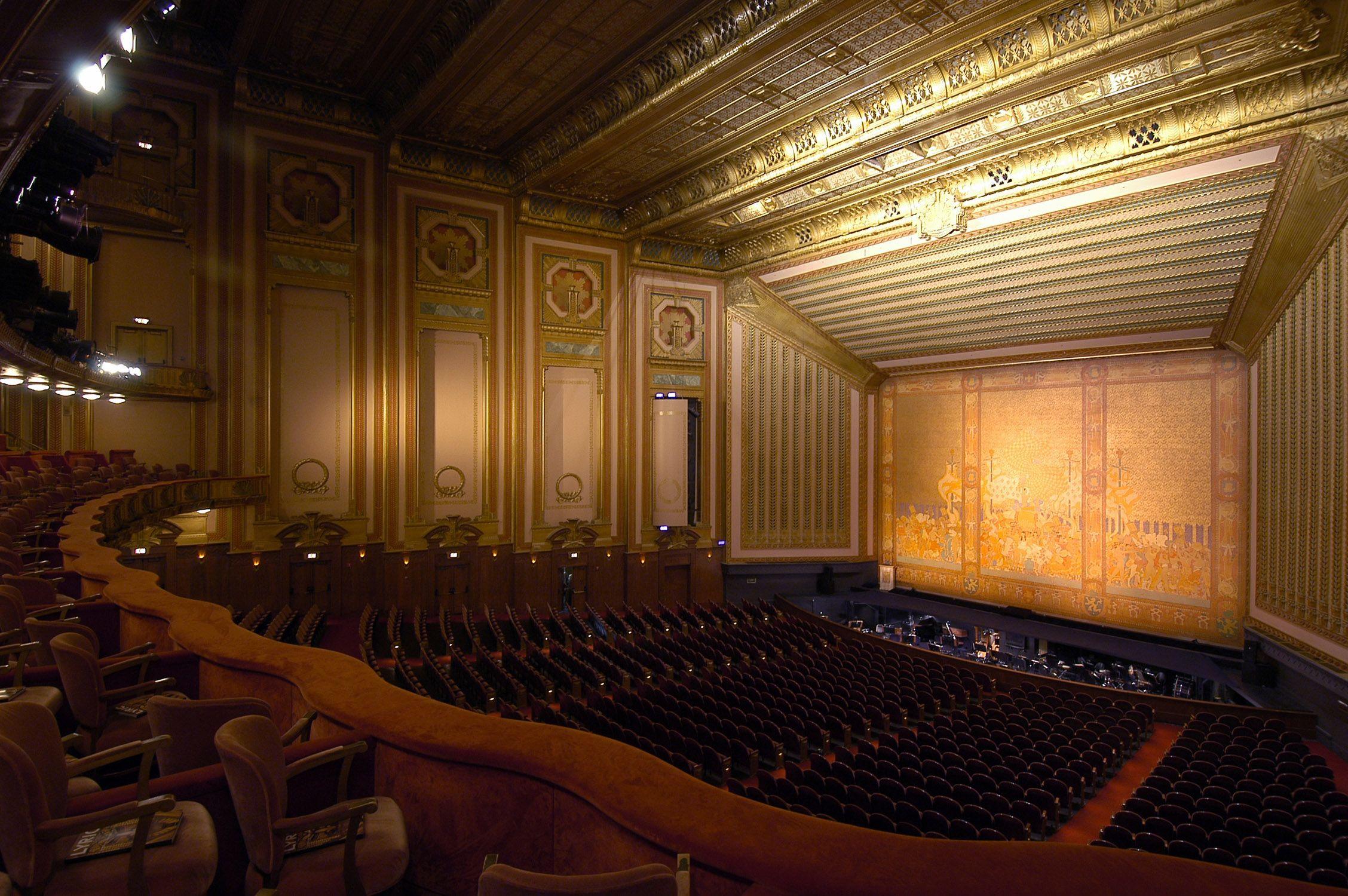 Lyric Opera of Chicago Civic Opera House OHC2013 See inside the dramatic Grand Foyer
