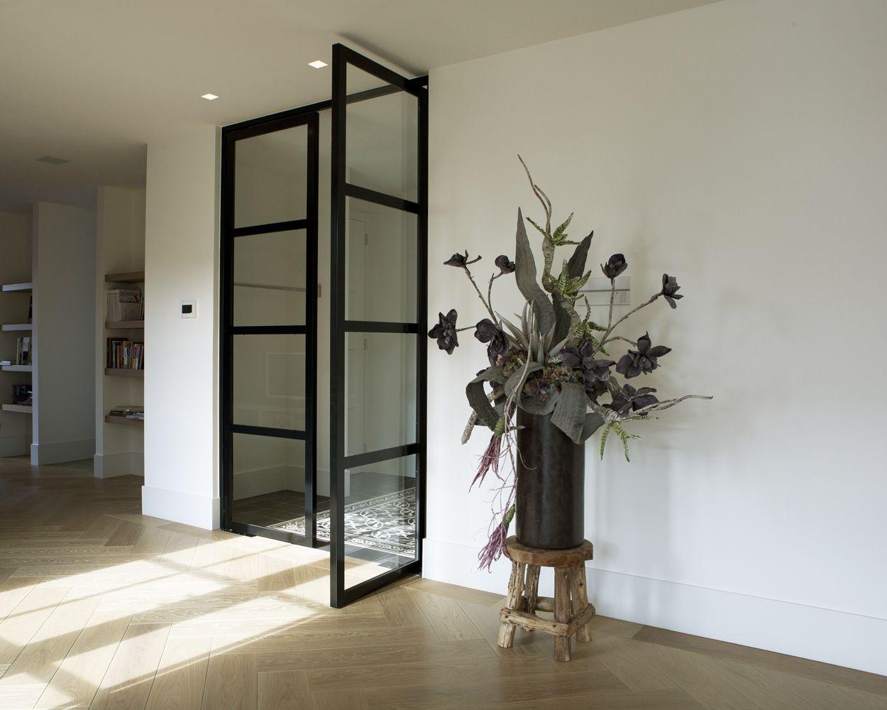 Populair Dubbele taatsdeur met glas G. de Rooy Metaaldesign | Home Ideas in #FM82