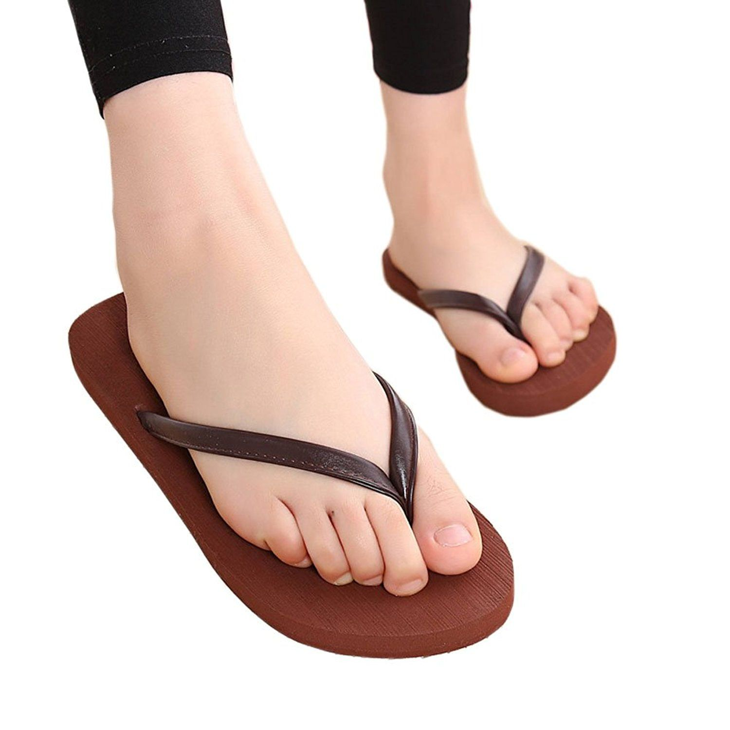 3e363dce099e Lerela Womens Slim Flip-Flop Sandal Beach Flat Thong Slippers     Check  this awesome product by going to the link at the image.  womensandals