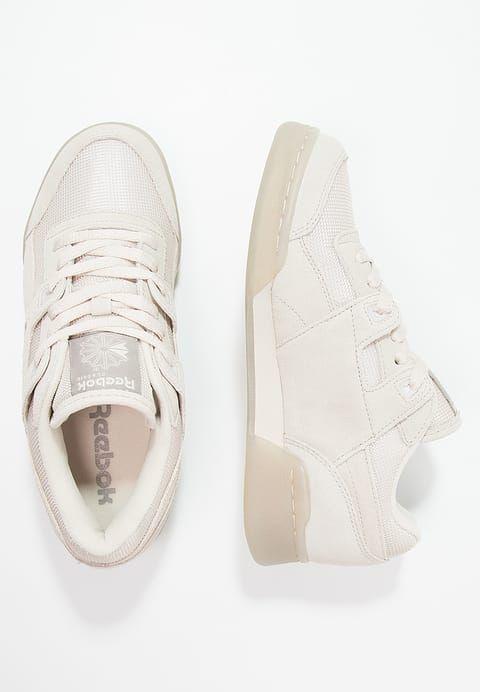 Schoenen Reebok Classic WORKOUT PLUS TN - Sneakers laag - stucco/beach  stone Beige: