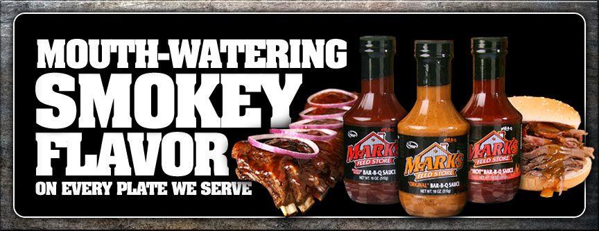 Mark S Tasty Bar B Q Menu Mark S Feed Store Pasta Salad Barbecue Mouth Watering